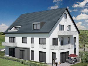 Praml Objektbau: Mehrfamilienhaus, Wüstensteiner Straße 15 München Aubing