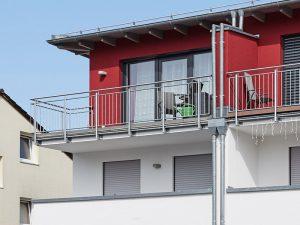 modernes Doppelhaus in München, Praml Bau