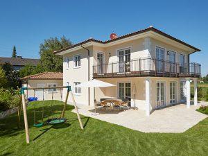 exklusive Toskana-Villa in schlüsselfertiger Massivbauweise