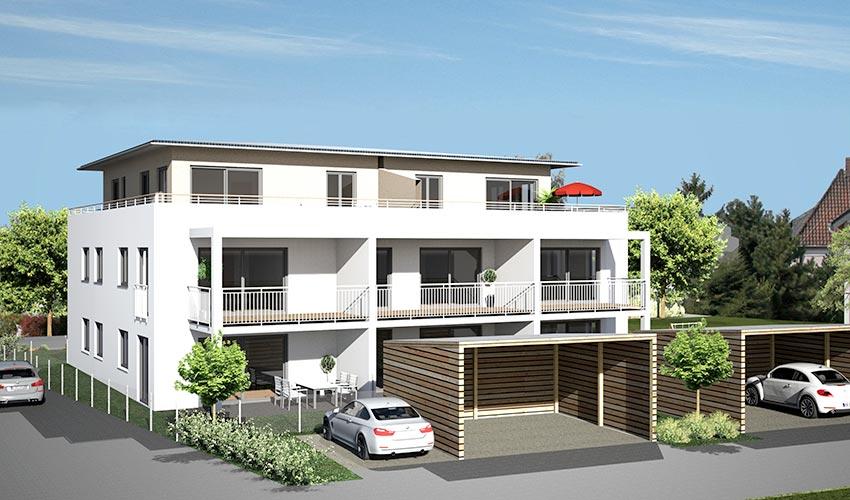 mehrfamilienhaus mit 8 whg in neuhausen praml bau. Black Bedroom Furniture Sets. Home Design Ideas