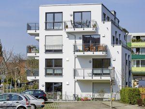 moderne Wohnanlage in München von Praml Bau
