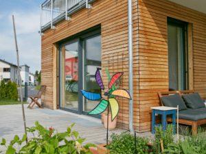 schlüsselfertiges Praml Haus, Anbau / Terrasse