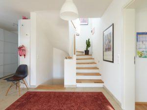 Einfamilienhaus, Treppe, Foyer