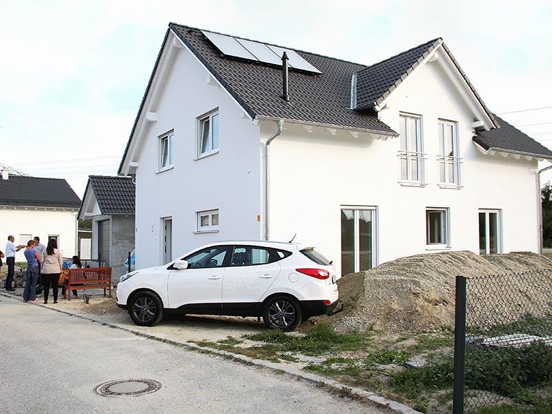 Einfamilienhaus, Hausübergabe, Praml Bau