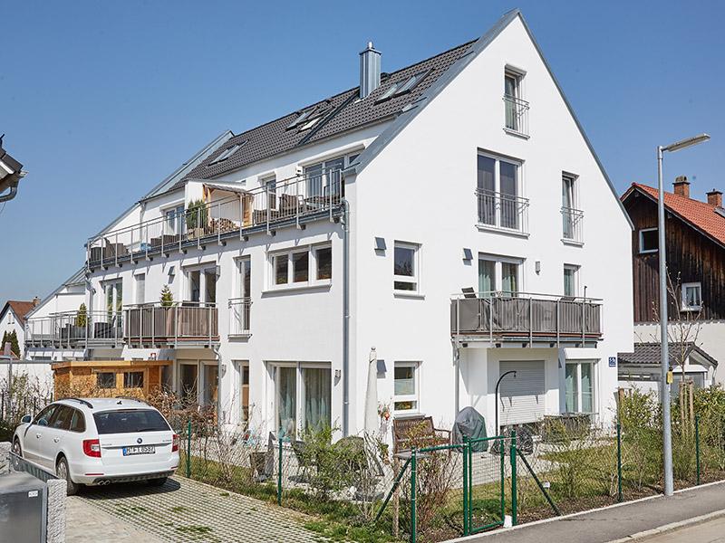 Praml Objektbau & Immobilienentwicklung: Mehrfamilienhaus in München