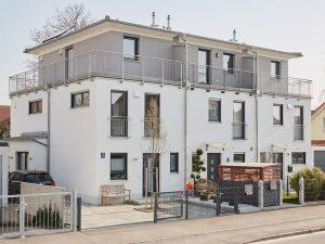 Mehrfamilienhaus, München, Praml Bau