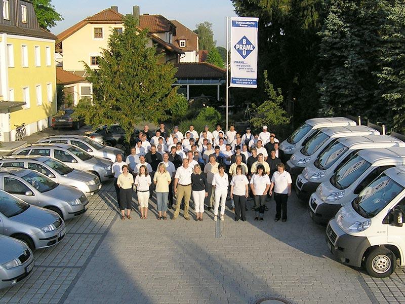 Das Team der Praml Bau GmbH