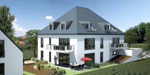 Praml Objektbau: Mehrfamilienhaus, München Trudering