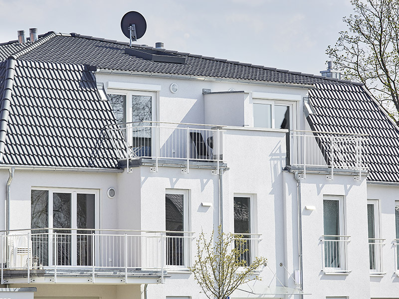 Doppelhaus in schlüsselfertiger Massivbauweise