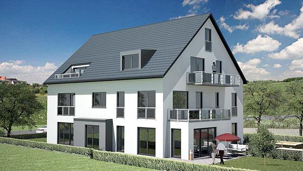 Mehrfamilienhaus, München Aubing, Praml Bau