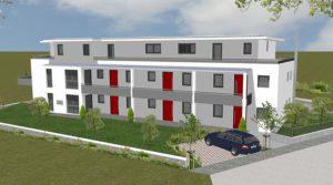 Praml Objektbau: Mehrfamilienhaus in Metten