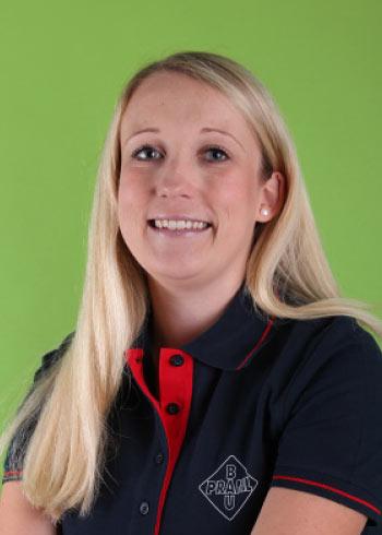 Christina Ertl, Administration für Mängelmanagement, Praml Bau