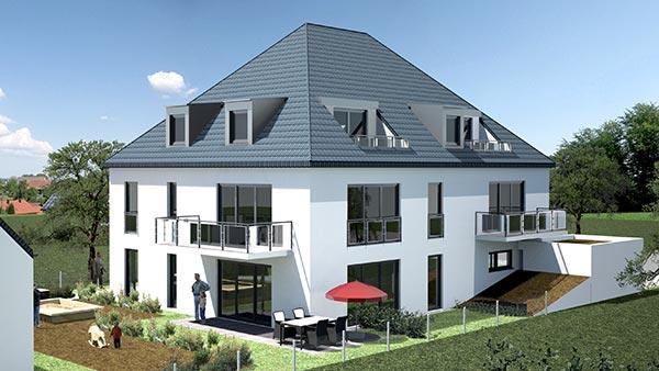 mehrfamilienhaus mit tiefgarage in trudering praml bau. Black Bedroom Furniture Sets. Home Design Ideas