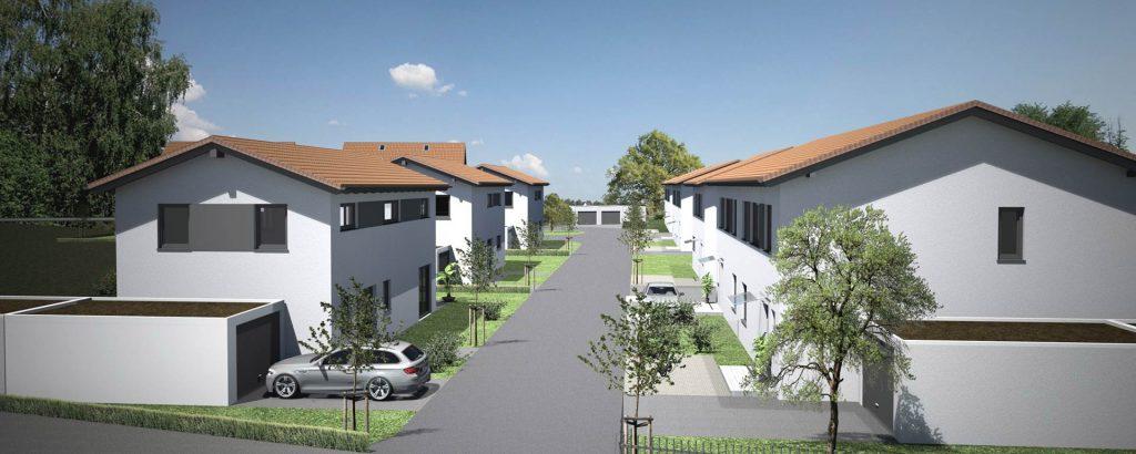 Neubaugebiet Stauffendorf / Deggendorf, Praml Objektbau