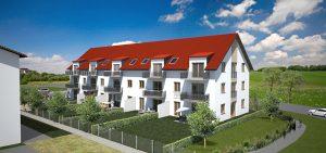Wohnanlage Landshut / Vilsheim, Praml Bau, Objektbau, Eigentumswohnungen