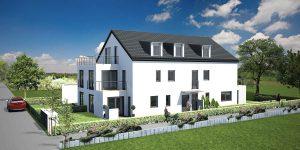 Praml Objektbau: Mehrfamilienhaus mit Eigentumswohnungen, Immenstadter Straße 3, München Forstenried